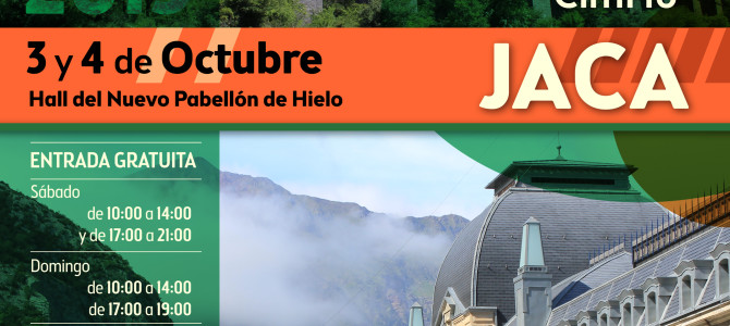 Encuentro: días 3 y 4 de octubre en Jaca (Huesca)