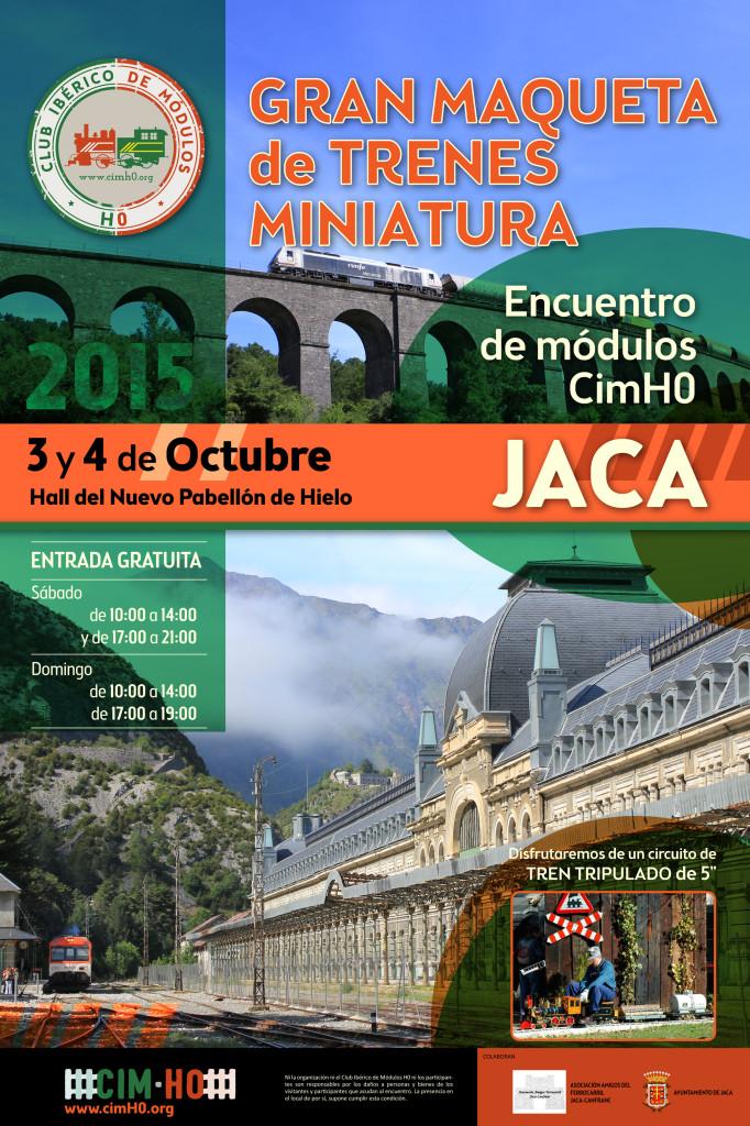 Cartel Encuentro Jaca octubre 2015 - cimH0