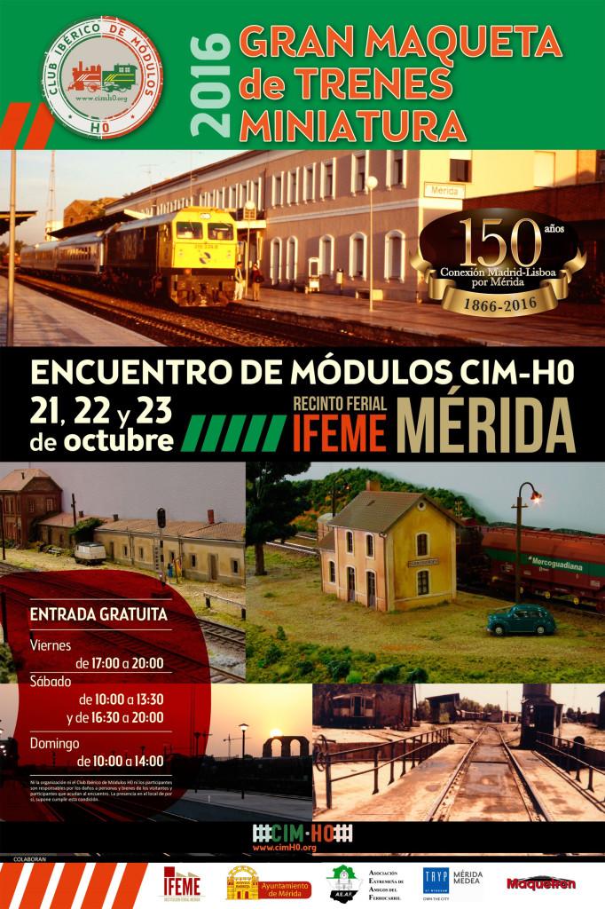 Cartel Encuentro de Mérida - cimH0