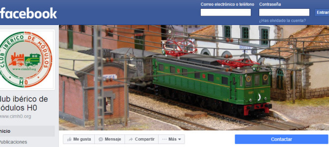 Nós já temos Facebook