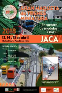 Cartel Encontro Jaca 2018 - cimH0