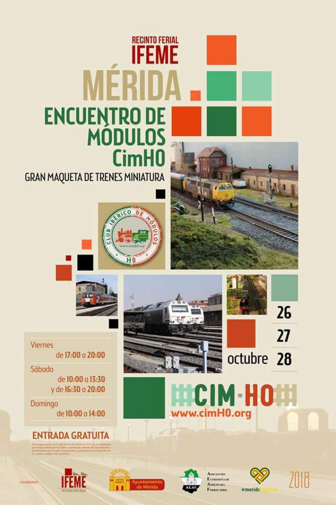 Cartel Mérida 2018 - cimH0