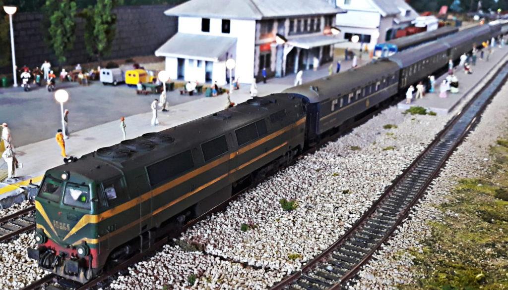 Tren histórico en Cotos, Expomodeltren 2018 - cimH0