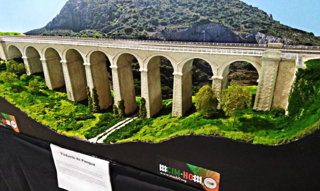 Viaducto de Pangua, Expomodeltren 2018 - cimH0