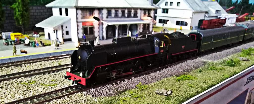 Tren de la Fresa en Cotos, Expomodeltren 2018 - cimH0