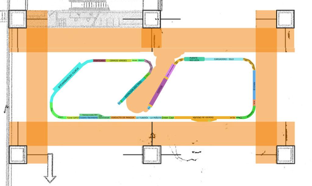 Diseño maqueta Expomodeltren 2018 - cimH0