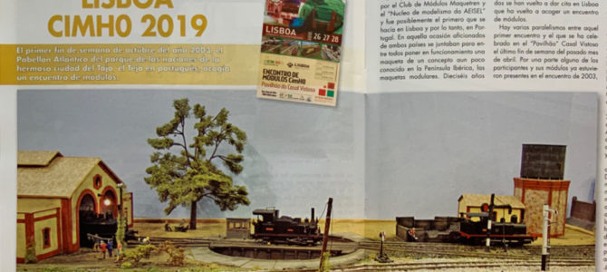 Reportaje Revista Maquetrén – Encuentro de Lisboa